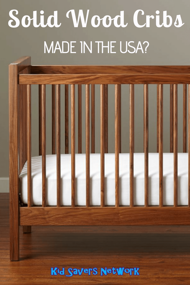 Solid Wood Cribs Made In The Usa