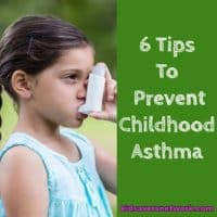6 tips to prevent childhood asthma