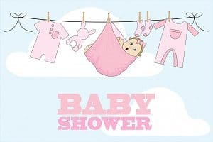 eco friendly baby shower