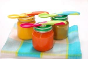 jars of baby food